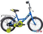 Детский велосипед Novatrack Urban 16 (синий/желтый, 2019)