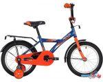 Детский велосипед Novatrack Astra 14 2020 143ASTRA.BL20 (синий/оранжевый)