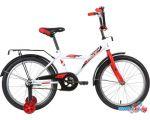 Детский велосипед Novatrack Astra 20 2020 203ASTRA.WT20 (белый/красный)