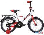 Детский велосипед Novatrack Astra 14 2020 143ASTRA.WT20 (белый/красный)