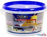 Краска Dekor ВД-АК-216 для интерьеров моющаяся (белоснежный, 3 кг)
