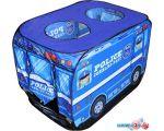 Игровая палатка Darvish Полицейская машина (50 шаров) DV-T-1684