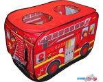 Игровая палатка Darvish Пожарная машина (50 шаров) DV-T-1683