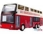 Автобус Double Eagle E640-003 (белый/красный)