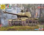 Сборная модель Моделист Советский танк ИС-2 307202