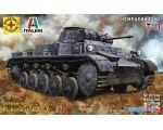 Сборная модель Моделист Немецкий танк T-II 307244