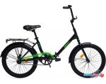 Велосипед AIST Smart 20 1.1 (черный/зеленый, 2017)