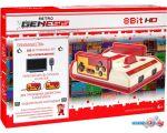 Игровая приставка Retro Genesis 8 Bit HD (2 геймпада, 300 игр)