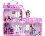 Кукольный домик Krasatoys Дом Анна с мебелью 000268 (белый/розовый) в Бресте
