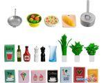 Аксессуары для кукольного домика Lundby Набор кухонных аксессуаров 60508900