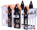 Кукольный домик Krasatoys Замок Джульетты с мебелью 000260 (белый/черный) в Гомеле
