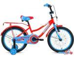 Детский велосипед Forward Funky 18 2021 (красный/голубой)