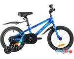 Детский велосипед Novatrack Juster 16 2021 165JUSTER.BL21 (синий)