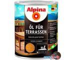Масло Alpina Oel Fuer Terrassen 2.5 л (темный)
