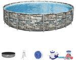 Каркасный бассейн Bestway Power Steel Камень 56889 (671x132)