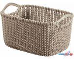 Корзина Curver Knit XS 3L (темно-серый) 226169