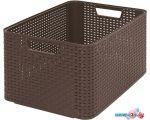 Ящик для хранения Curver Style L 30L (темно-коричневый) 205850