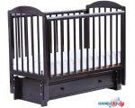 Классическая детская кроватка ЛЕЛЬ Кубаночка-5 БИ 41 (венге)
