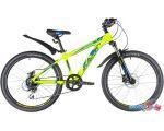 Велосипед Novatrack Extreme 24 HDisc 2020 (белый)