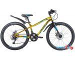Велосипед Novatrack Prime D 24 р.11 2020 (золотистый)