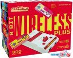 Игровая приставка Retro Genesis 8 Bit Wireless Plus (2 геймпада, 300 игр)