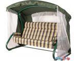 Садовые качели Удачная мебель Толедо (зеленый)