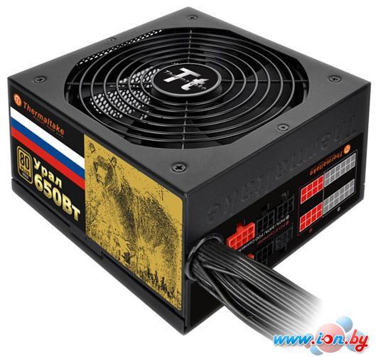Блок питания Thermaltake Урал 650W (TP-650AH3CCG-B) в Могилёве