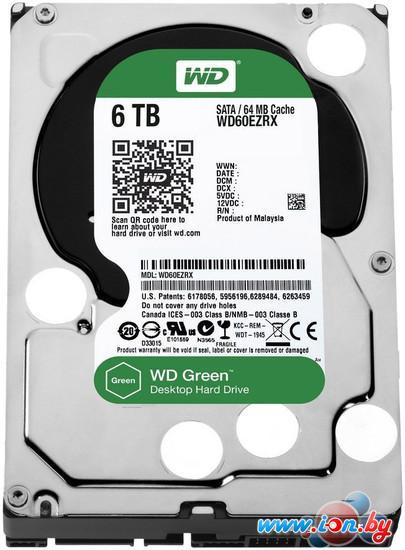 Жесткий диск WD Green 6TB (WD60EZRX) в Могилёве