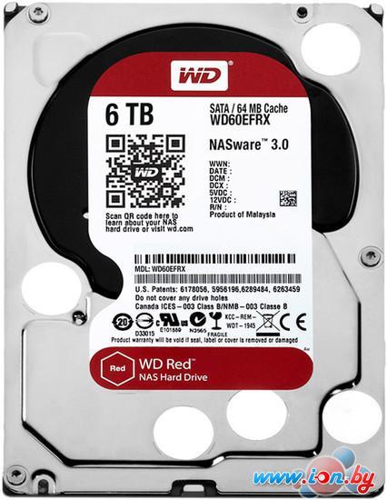 Жесткий диск WD Red 6TB (WD60EFRX) в Могилёве