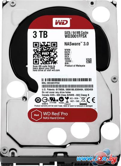 Жесткий диск WD Red Pro 3TB (WD3001FFSX) в Могилёве