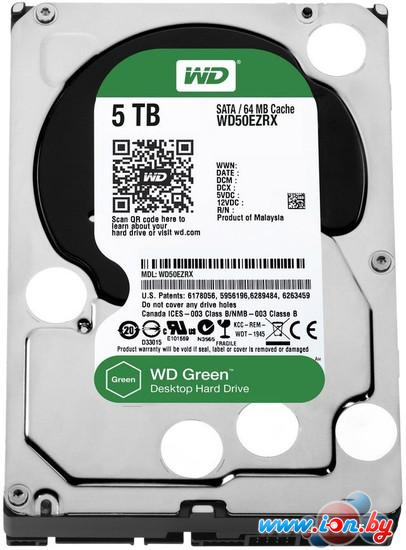 Жесткий диск WD Green 5TB (WD50EZRX) в Могилёве