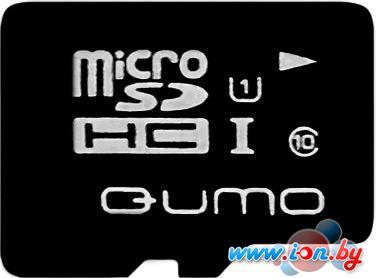 Карта памяти QUMO microSDHC (UHS-1) 16GB (QM16GMICSDHC10U1) в Могилёве
