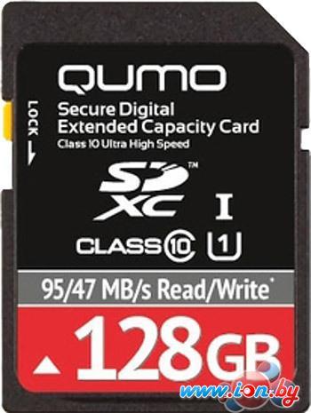 Карта памяти QUMO SDXC UHS-I U1 Class 10 128GB (QM128GSDXC10U1) в Могилёве