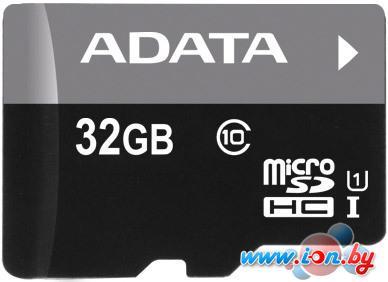Карта памяти A-Data Premier microSDHC UHS-I U1 (10 Class) 32 Gb (AUSDH32GUICL10-RA1) в Могилёве