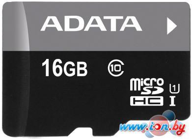 Карта памяти A-Data Premier microSDHC UHS-I U1 (10 Class) 16 Gb (AUSDH16GUICL10-RA1) в Могилёве