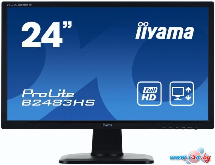 Монитор Iiyama ProLite B2483HS-B1 в Могилёве