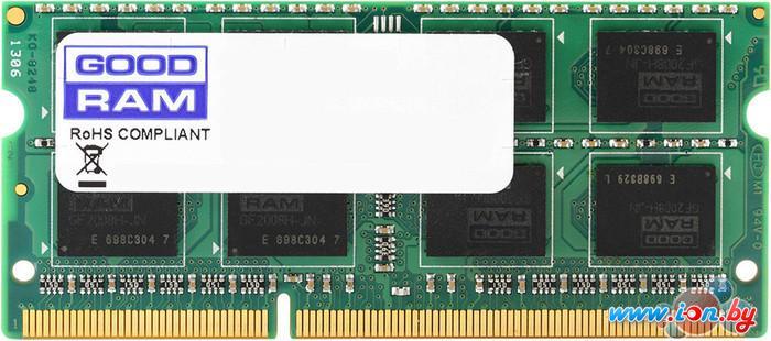 Оперативная память GOODRAM 4GB DDR3 SO-DIMM PC3-12800 (GR1600S3V64L11S/4G) в Могилёве