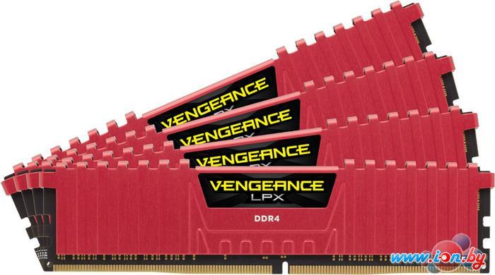 Оперативная память Corsair Vengeance LPX 4x4GB KIT DDR4 PC4-21300 (CMK16GX4M4A2666C15R) в Могилёве