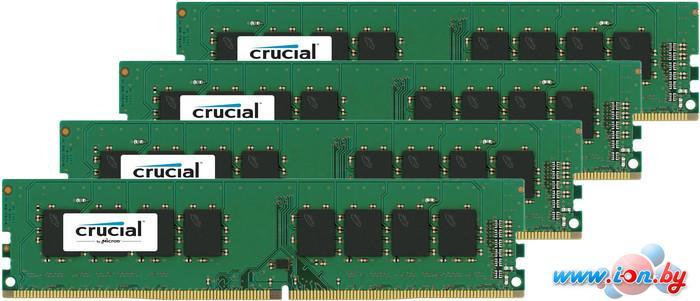 Оперативная память Crucial 4x4GB KIT DDR4 PC4-17000 (CT4K4G4DFS8213) в Могилёве