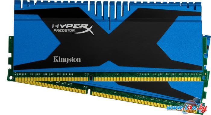 Оперативная память Kingston HyperX Predator 2x4GB KIT DDR3 PC3-19200 (HX324C11T2K2/8) в Могилёве