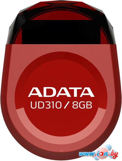 USB Flash A-Data UD310 Red 8Gb (AUD310-8G-RRD) в Могилёве