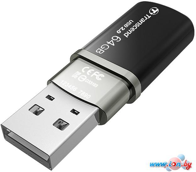 USB Flash Transcend JetFlash 320 64GB (TS64GJF320K) в Могилёве