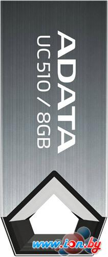 USB Flash A-Data DashDrive Choice UC510 Titanium 8GB (AUC510-8G-RTI) в Могилёве