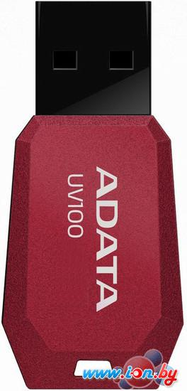 USB Flash A-Data DashDrive UV100 Red 32GB (AUV100-32G-RRD) в Могилёве