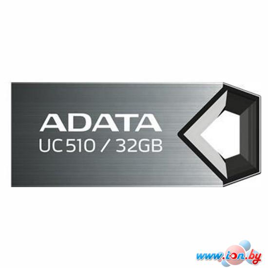 USB Flash A-Data DashDrive Choice UC510 Titanium 32GB (AUC510-32G-RTI) в Могилёве