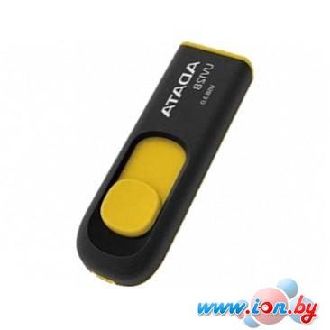 USB Flash A-Data DashDrive UV128 Black/Yellow 32GB (AUV128-32G-RBY) в Могилёве