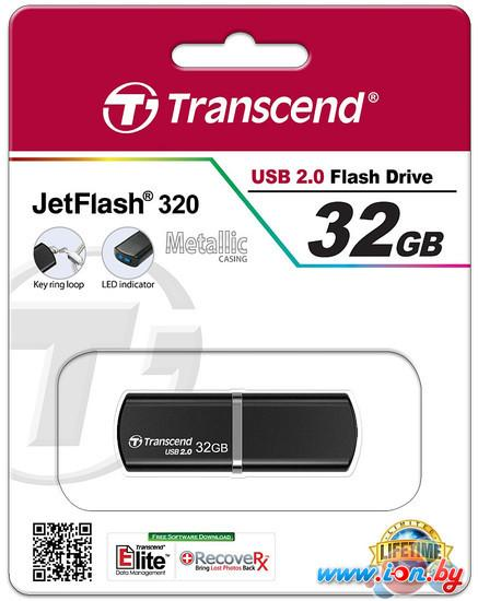 USB Flash Transcend JetFlash 320 32GB (TS32GJF320K) в Могилёве