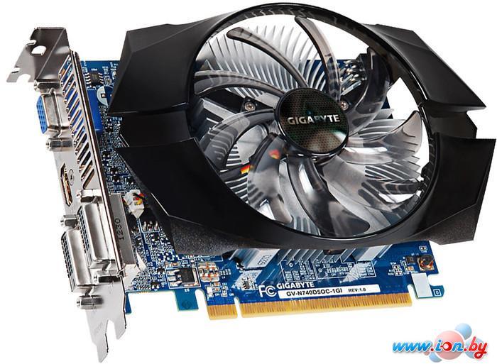 Видеокарта Gigabyte GeForce GT 740 OC 1024MB GDDR5 (GV-N740D5OC-1GI) в Могилёве