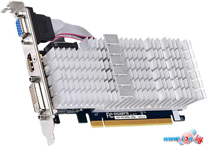 Видеокарта Gigabyte GeForce GT 730 2GB DDR3 (GV-N730SL-2GL) в Могилёве