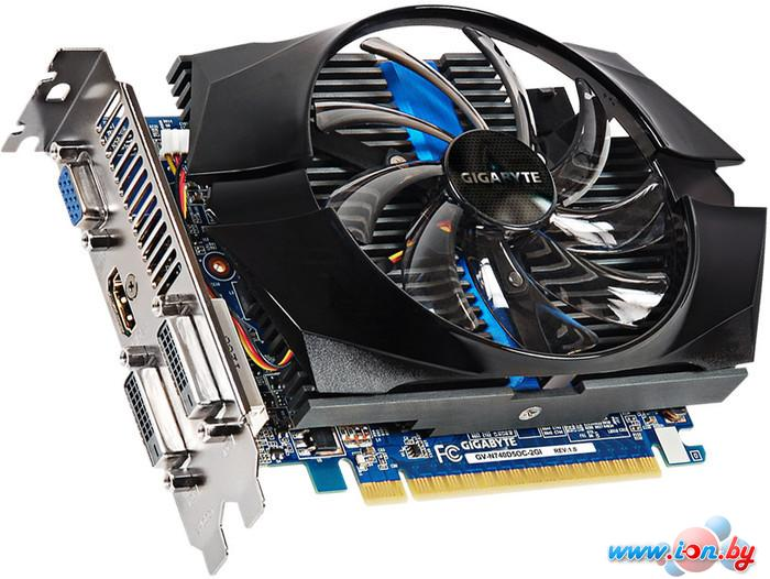 Видеокарта Gigabyte GeForce GT 740 OC 2GB GDDR5 (GV-N740D5OC-2GI (rev. 1.0)) в Могилёве